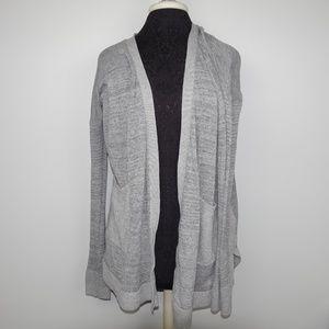 Calvin Klein Jeans Long Cardigan Sweater Open